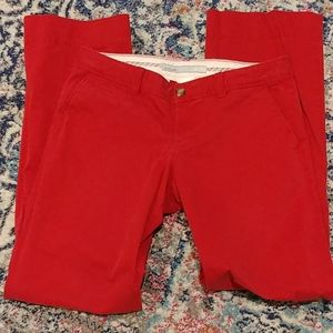 Old Navy red pants size 4
